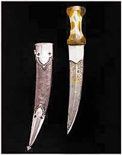 Shah jahan's dagger